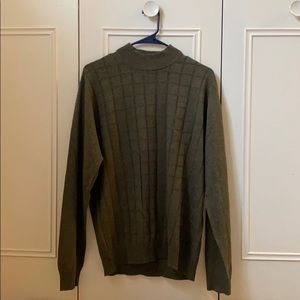 Perry Ellis Sweater Green Size L Large